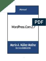 Manual WordPress.com 2.7