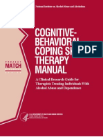 Cbt Coping Skills Therapy Manual