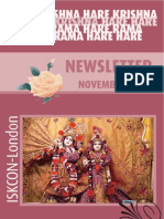 ISKCON London (UK)-2008 11-November  Newsletter