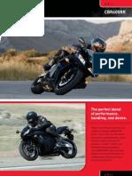 Brochure 2011 Cbr600rr