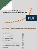 L1 - GSM Alcatel Introduction