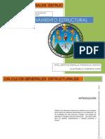INVESTIGACION PREDIMENSIONAMIENTO ESTRUCTURAL