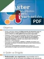 Máster en Gestión de la Innovación