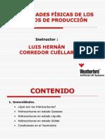 PROPIEDADES FÍSICAS DE LOS FLUIDOS DE PRODUCCIÓN EN UN YACIMIENTO