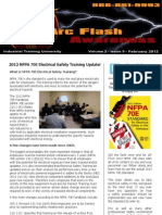 2012 NFPA 70E Electrical Safety Training Update! Newsletter
