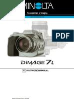 Manual Minolta Dimage 7i