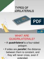 The E Tutor - Types of Quadrilaterals