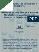 Presentación_Estadística_IMMEX