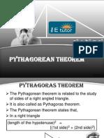 The E Tutor - Pythagoras Theorem