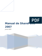 Manual Share Point 2007