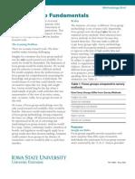 Focus Group Fundaments