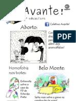 Jornal do Coletivo Avante! - 2ª Edição/2012