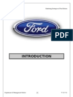 Ford Project Report