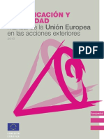 Manual de Comunicacion y Visibilidad de La Union Europea 2010