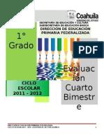 1er. Grado Cuarto Bimestre 2011-2012