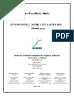 SMEDA Environment Controlled Layer Farm - 30,000 Birds