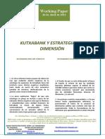 KUTXABANK Y ESTRATEGIAS DE DIMENSION (Es) KUTXABANK AND SIZE STRATEGY (Es) KUTXABANK ETA NEURRI-ESTRATEGIAK (Es)