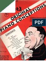 Waller, Fats - Original Piano Conceptions