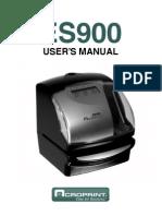 Acroprint Es 900 Manual
