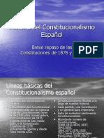 Historia del Constitucionalismo Español