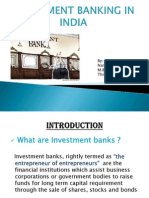 Investment Banking...