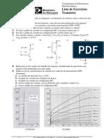 Lista de Exercícios IFES com respostas - Transistor