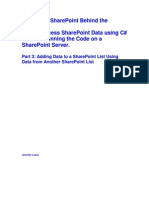 Accessing SharePoint Data Using C# Without Running Code on SharePoint Server (Part 3)