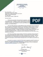 Letter from Jo-Ellen Darcy to Pam Breaux Feb 2, 2012