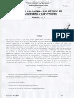 Ficha de Trabalho - O Método popperiano