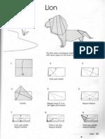 Leones Origami