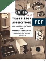 Raytheon Transistor Applications