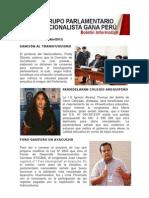 Bancada Nacionalista Gana Perú - Boletín Nº 23