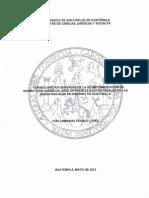 CONSECUENCIAS DERIVADAS DE LA NO IMPLEMENTACION DE NORMATIVOS JURIDICOS, ANTE DIFERENTES ILICITOS PENALES EN LAS REDES SOCIALES EN INTERNET EN GUATEMALA