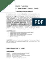 Derecho Mercantil y Laboral