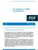 Propuesta Nuevo Perfil y Malla CIPOL-Ulagos