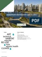 Waterfront Storm Water Case Studies