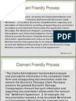 Claimant Friendly Process