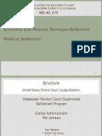 Economic and Properyt Damages Settlement/ Medical Settlement