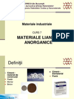 7-materiale liante anorganice