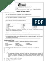 EXERCÍCIOS DE REFORÇO 1 - 26 DE MARÇO