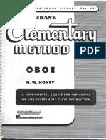 oboé - método - rubank - básico (elementar)