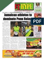 Street Hype Newspaper - April 19-30, 2012