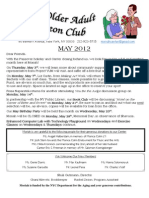 May 2012 Newsletter