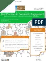 Community Engagement June 2012 - Case Studies