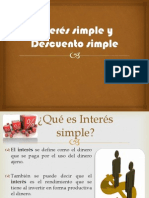 Interés simple y Descuento simple terminado