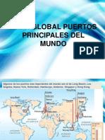 Mapa Global Puertos Principales Del Mundo