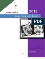 Guia teatro 2012