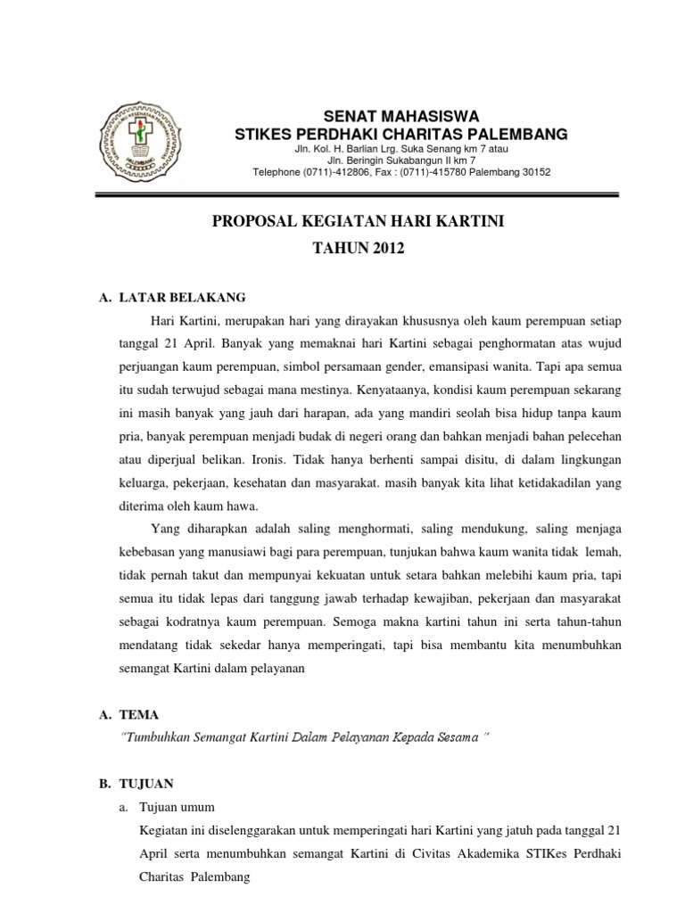 Proposal Kartini