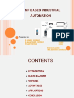 Industrial Automation Using Mobile Communication