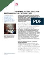 Philippines Workshop Summary